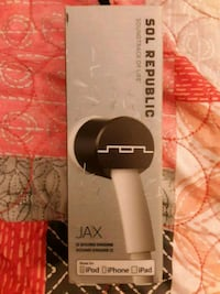 NEW Sol Republic JAX Series Earbuds with Microphone and Remote - White Omaha, 68114