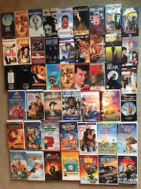 VHS movies*, kid friendly, good condition Winchester, 22602