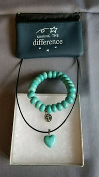 Necklace and bracelet boxed gift-set Burtonsville
