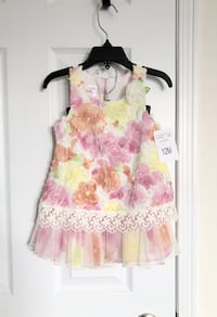 Baby girl's dress size 12 months- Brand New with tags Mississauga, L5M 0C5