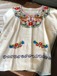 New Mexican embroidered blouse