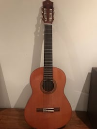 brown and black classical children's guitar Doral, 33178