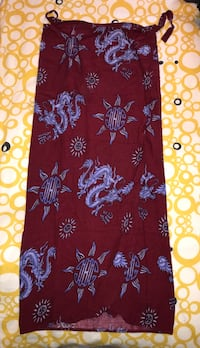 Ladies wraparound dragon skirt  Toronto, M8Y 3L7