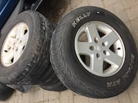 Jeep Wrangler Tires 546 km