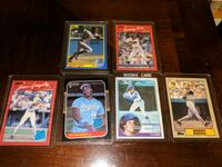 Various Rookie cards, late 80's Evanston, 60201