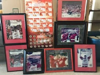 Detroit Red Wings autographed and mementos