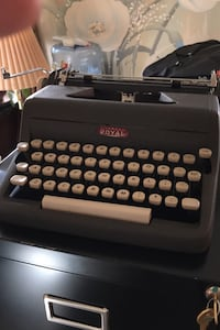 1958 Royal typewriter