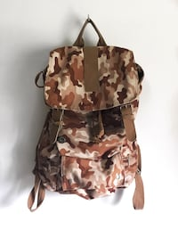 Brown Camouflage Backpack  Maple Ridge, V2X 3S6