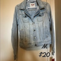 gray denim button-up jacket Mississauga, L4Y 4E2