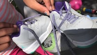 pair of gray-and-purple Nike sneakers Richland, 99354