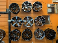 """Mercedes Factory Style Staggered 18"""" 19"""" 20"""" Wheel Tires"""