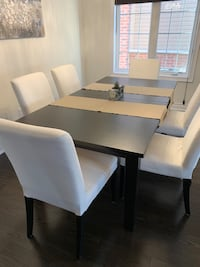 8 Seat Dining Table + Chairs Bradford West Gwillimbury, L3Z 0V4