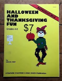 Halloween and Thanksgiving Fun reproducibles for g Martinsburg, WV, USA