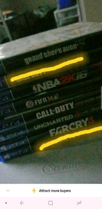 Ps4 games Mississauga, L5A 3M4
