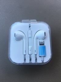 Wired Bluetooth EarPods/EarPhones/EarBuds with Lightning Connector for Apple iPhone 5/6/7/8/X Las Vegas, 89131