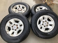 4 YOKOHAMA TIRES WITH RIMS INCLUDED   Hyattsville