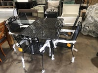 OUTDOOR DINING TABLE SET ASSEMBLED Dallas