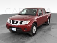 2019 Nissan Frontier Crew Cab pickup SV Pickup 4D 5 ft Red <br Baltimore