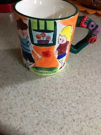 Dominican republic coffee cup with i love you sound Lakewood Township, 08701