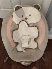Fisher Price Snugapuppy deluxe bouncer like new Chevy Chase, 20815