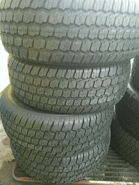 265 70 17 (4) New tires