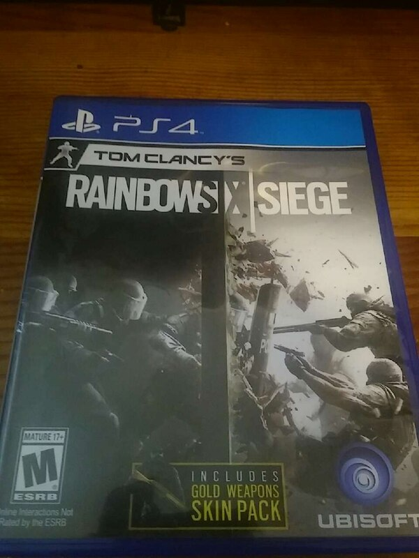 tom clancy's rainbow six siege sony ps4 game. HomeOther Winter Haven