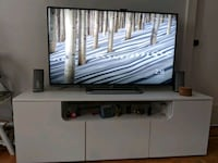 60-inch TV Stand White TV not included New York, 10014