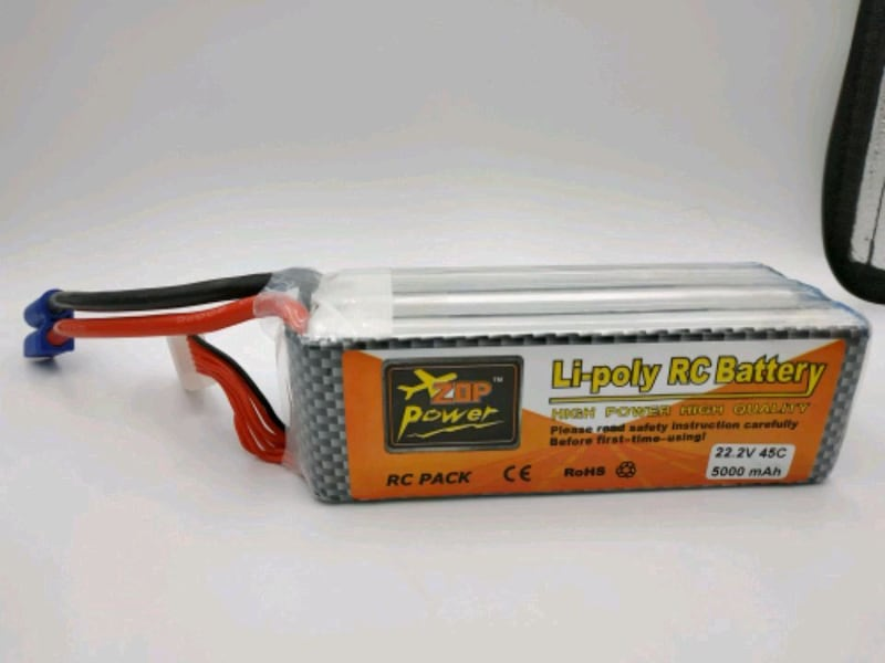 Zoppower lipo 5Ah battery 0