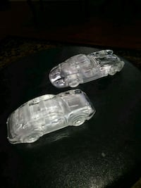 2 crystal cars . porsche 911 and Mercedes gullwing Hamden, 06518