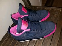 pair of black-and-pink Nike sneakers Fort Worth, 76103