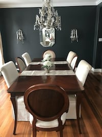 brown wooden dining table set Cambridge, N1S 1P1