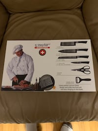 Zepter 6 piece knife set  Mississauga, L5M 5N1