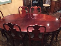 Cherry wood dining table 6 chairs  Amarillo, 79102