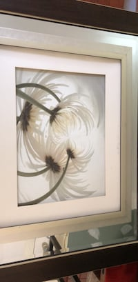 white and brown flower painting Woodbridge, 22191