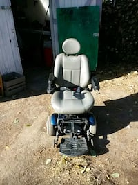 white and blue motorized wheelchair Bakersfield, 93301