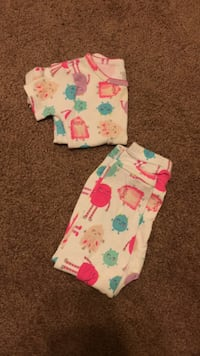 Toddler Girl PJ set size 18 mo Sterling, 20166