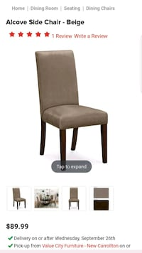 black and brown wooden chair screenshot