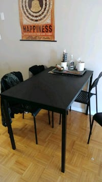 Table + 4 chairs and 2 bookshelves  Mississauga, L5J 2B2