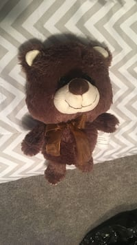 brown and white bear plush toy Broken Bow, 68822