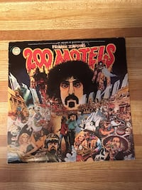 Record Album Vinyl LP Frank Zappa 200 Motels