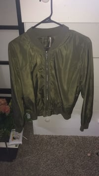 Olive Green Bomber Jacket Midwest City