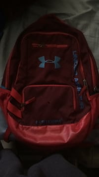 red and black Under Armour backpack Montréal, H1S 2B9