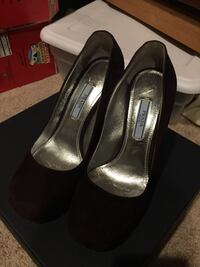 Prada Heels purple 36.5 new Fairfax, 22032