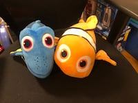 Finding nemo and dory talking plush Mississauga, L5A 3Y2