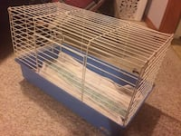 white and blue pet cage London, N5Y 4Y3