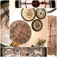 Beautiful wall clocks  Grande Prairie, T8W 2A8