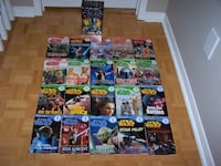 LOT 20 DK STAR WARS Ultimate Library Book Box Set Collection