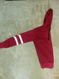 Teen's red and white hoodie Prattville, 36067