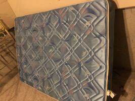 Free !Double mattress only no box springs and head board.