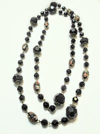 Black and coloured bead wrap around necklace Mississauga, L5M 4Z5